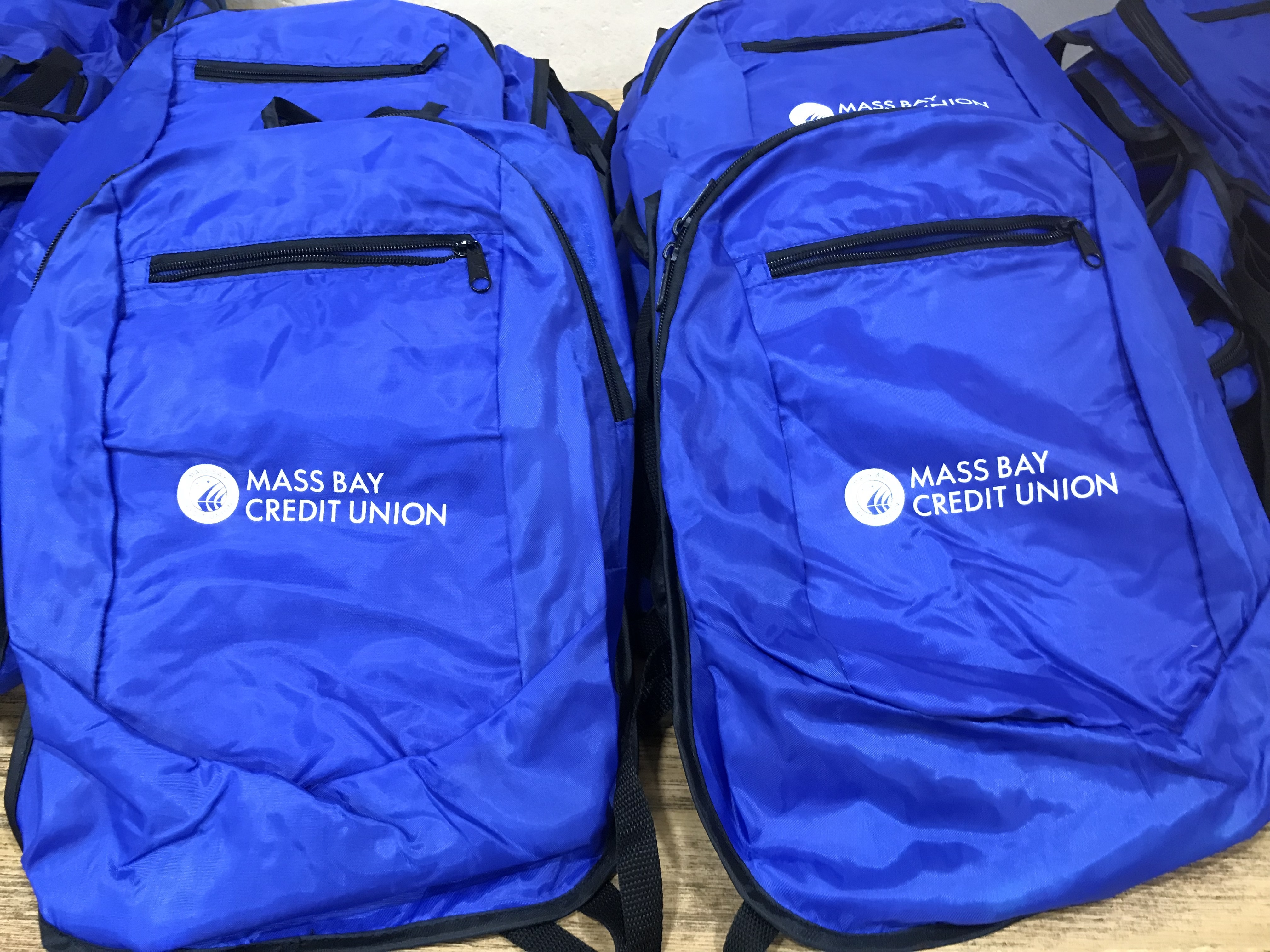 Backpack Donation to the Parker School